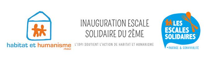 Inauguration de l'Escale solidaire du 2ème – Habitat et Humanisme